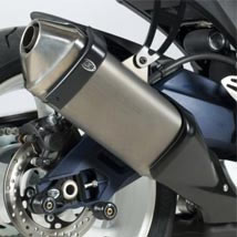 R&G Exhaust Protector (Can Cover) for GSX-R600 11-16
