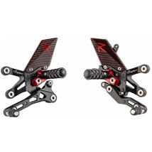 LighTech R Elite Rearsets for F3 675 12-14
