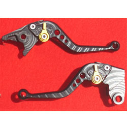 Pazzo Levers for Kawasaki Ninja 650R 09-16