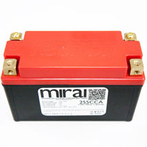 Mirai Battery Lightweight, Lithium 255 CCA (MLP-1512-C4)