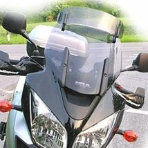 MRA VarioTouringScreen Windshield (16.3 Inches Tall) for DL1000 V-Strom 04-13