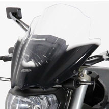 MRA Double-Bubble RacingScreen Windshield for FZ-09 14-15