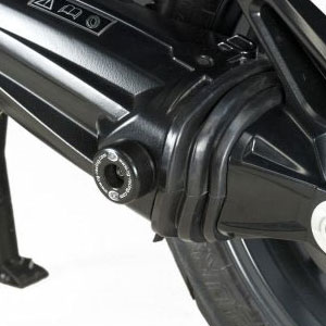 R&G Rear Axle Sliders/Protectors for Tiger Explorer 1200 12-15