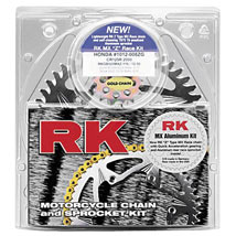 RK 525 (Aluminum) OEM Chain & Sprocket Kit for ZX10R 06-07 (Closeout)