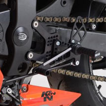 R&G Road Shift Pattern Adjustable Rearsets for ZX6R 07-12