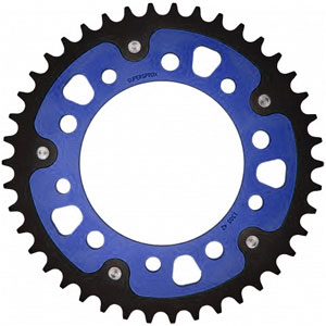 Supersprox Stealth Blue 520 Rear Sprocket for CTX700 14