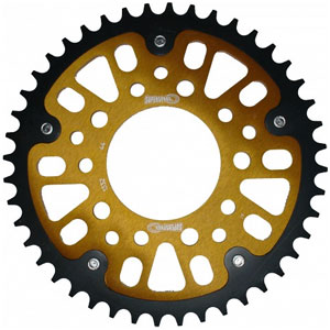 Supersprox Stealth Gold 525 Rear Sprocket for CRF1000L Africa Twin 16-17