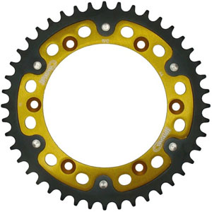 Supersprox Stealth Gold 520 Rear Sprocket for TE 310 09-12