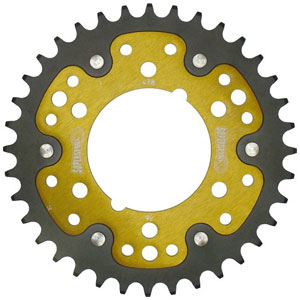 Supersprox Stealth Gold 520 Rear Sprocket for Z1000/ABS 10-17