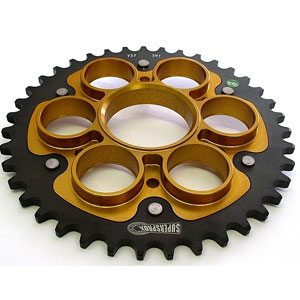 Supersprox Stealth Gold 520 Rear Sprocket for Streetfighter 1098 07-13