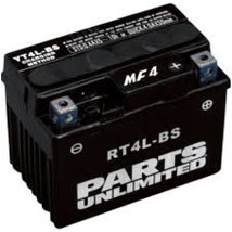 Parts Unlimited AGM (Maintenance-Free) Battery for TT-R125E/LE Electric Start 03-07