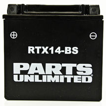 Parts Unlimited AGM (Maintenance-Free) Battery for R1200GS 05-11
