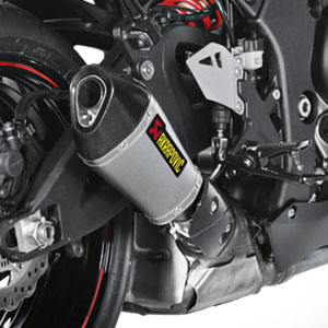 Akrapovic Slip-On Exhaust for ZX10R 11-15