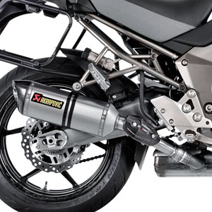 Akrapovic Slip-On Exhaust for Versys 1000 15-16