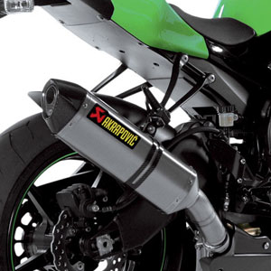 Akrapovic Slip-On Exhaust for ZX10R 08-09