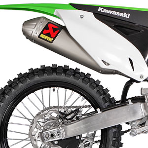 Akrapovic Slip-On Exhaust for KX250F 09-16