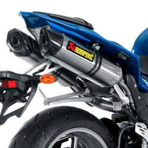 Akrapovic Slip-On Exhaust for YZF-R1 09-14