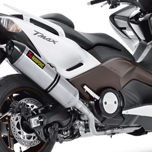 Akrapovic Scooter Racing Line Full Exhaust for TMAX 500 08-16