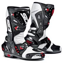 Sidi Vortice Air (Vented) Boots Black/White