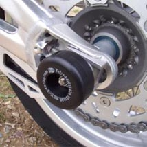 R&G Rear Axle Swingarm Protectors for Shiver 750 07-15