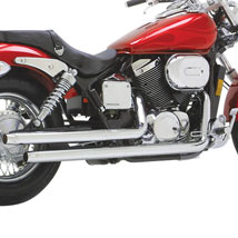Vance & Hines Straightshots Exhaust for VT750DC Shadow Spirit 01-03 (Closeout)