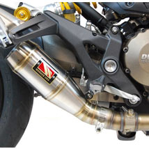 Competition Werkes GP Slip-On Exhaust for Monster 821 14-16
