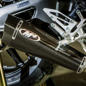 M4 Slip-On Exhaust for FZ-10 17-18