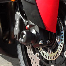 Shogun Front Axle Sliders for ZX14R 08-16