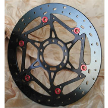 Brake Tech Axis 330mm Iron Full Floating (Front) Brake Rotors for 1098R/1198/ Streetfighter/848 Corse 08-12