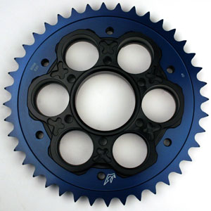 Driven Colored 520 Rear Carrier Sprocket for 848 08-09