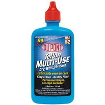 DuPont Multi-Use Lubricant with Teflon Fluoropolymer 4 oz. Squeeze Bottle