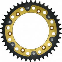 Supersprox Stealth Gold 520 Rear Sprocket for WR250X 08-12