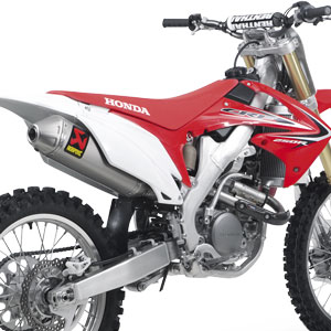 Akrapovic Evolution Full Exhaust for CRF250R 11-13