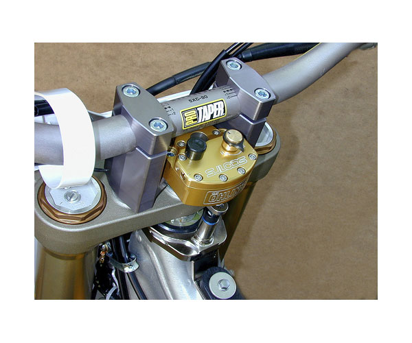 Sub Mount Kit Installed with oversized handlebars and stock triple clamp. Picture is only a representation. Actual bike not shown. Does not include handlebars.