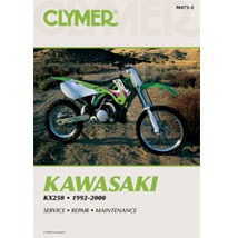 Clymer Manual for KX250 92-00