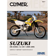 Clymer Manual for DR-Z400 SM 05-08