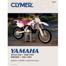 Clymer Manual for YZ125/250 88-93