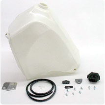 IMS 5.5 Gallon Fuel Tank in White for KLR650 87-07