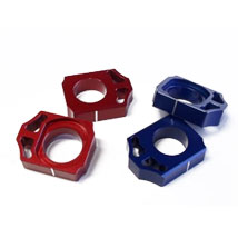 Works Connection Axle Blocks for CR125R/250R 00-07