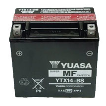 Yuasa AGM (Maintenance-Free) Battery for ZX12R 00-05